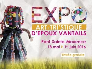 Exposition Art-Tris'tique d'Epoux Vantail à Pont-Sainte-Maxence !