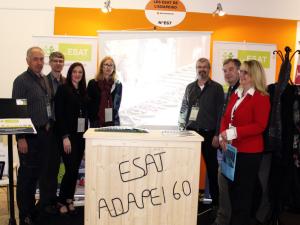 Les ESAT de l'Oise au Salon Handicap & Achats Responsables