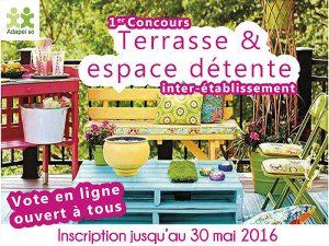 Concours « Terrasse & Espace détente »