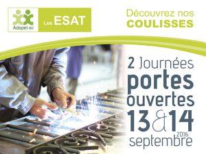 Portes ouvertes des ESAT les 13 & 14 septembre