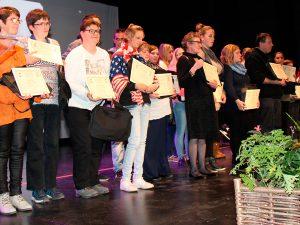 145 lauréats à la cérémonie de remise des attestations de compétences