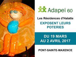 Les poteries des artistes des Résidences d'Halatte exposées du 19 mars au 2 avril