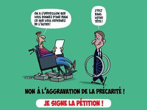 AAH, pensions d'invalidité : Non au recul des droits et à l'aggravation de la précarité !