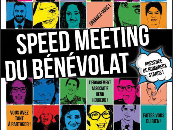 Speed meeting du bénévolat