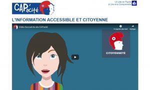 CAP'acité : l'information accessible et citoyenne