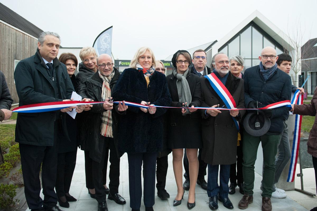Inauguration des Foyers d'Accueil Médicalisés