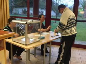 L'Election du CVS au centre d'habitat le sésame
