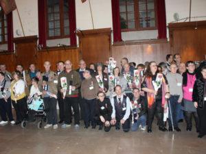 Remise des médailles d'honneur du travail à l'Unapei de l'Oise