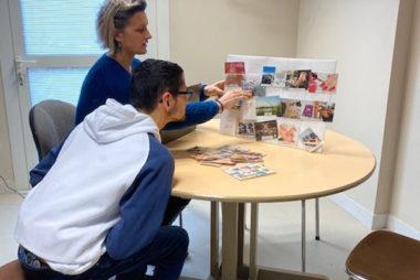 planning d'activité 4 tilleuls résidents et éducateurs
