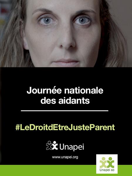 Journée nationale des aidants #LeDroitdEtreJusteParent