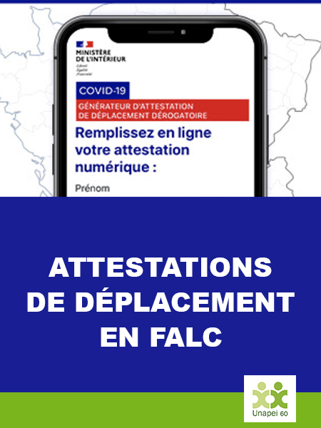 Le reconfinement en France : l'attestation de déplacement est disponible en version FALC