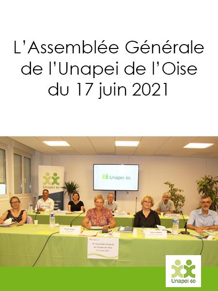L'Assemblée Générale 2021 de l'Unapei de l'Oise en Visio-conférence